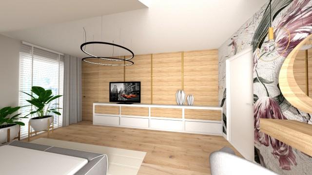 Dom w Świnicach - wizualizacja - Jowita Błaszczyk Jowita Błaszczyk projektowanie wnętrz
