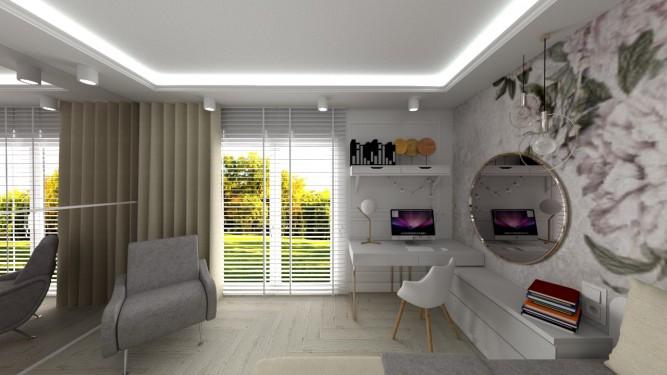 Królestwo Katarzyny - wizualizacja - Jowita Błaszczyk Jowita Błaszczyk projektowanie wnętrz