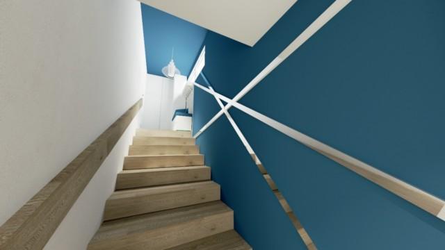 Mieszkanie Ze Starą Duszą - wizualizacja - Jowita Błaszczyk Jowita Błaszczyk projektowanie wnętrz
