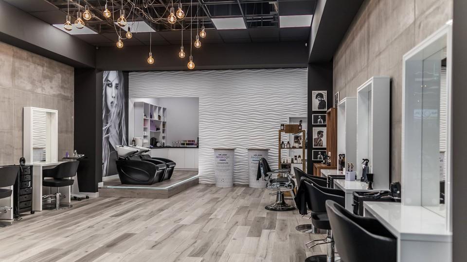 Salon Fryzjerski - fotografia - Łukasz Strupiński Jowita Błaszczyk projektowanie wnętrz
